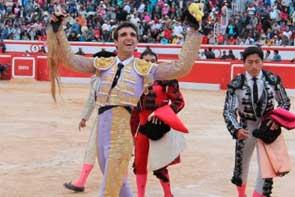 Miguel Ángel Delgado declarado triunfador de la Feria de Chota