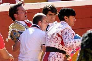Urdiales se recupera en Soria de la cornada que le apartará al menos quince días